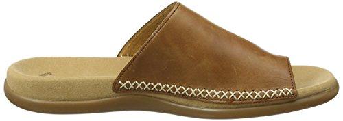 Gabor Shoes Fashion, Ciabatte Donna Marrone (peanut 24)
