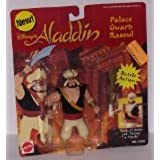 Disneys Aladdin Battle Palace Guard Rasoul with Battle Action by Mattel