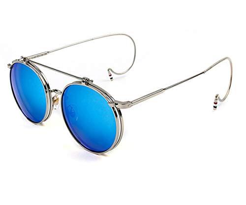 Tiadi Fahrradbrille Outdoor Brille Prämie Blendschutz Ultra Light Night Sonnenbrille Classic Style Ultra Vintage Sportlicher Steampunk Polarisierte