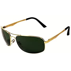 Aislin Rectangular Sunglasses (Gold) (As-3484Dh-2-Gld)