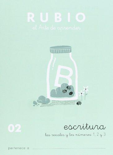 Cuadernos Rubio: Escritura 02 por Ramón Rubio Silvestre