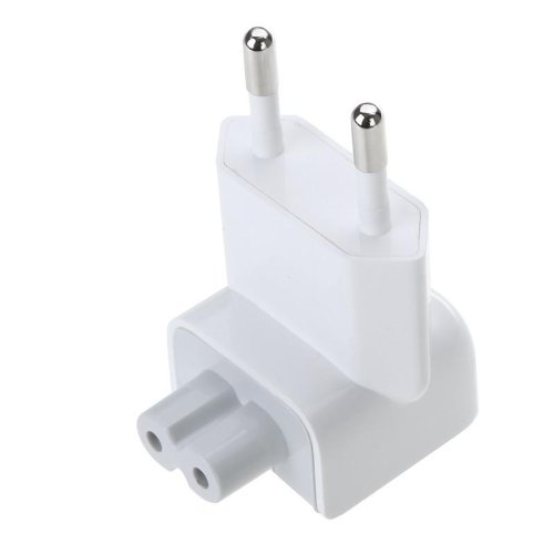 CABLESETC 455 EU Extension Power Cord For Apple Macbook Air Pro (WHITE)