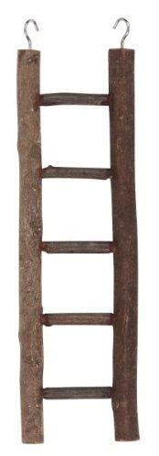 Kerbl Ladder 5 Steps Natural Wood, 26 cm 1