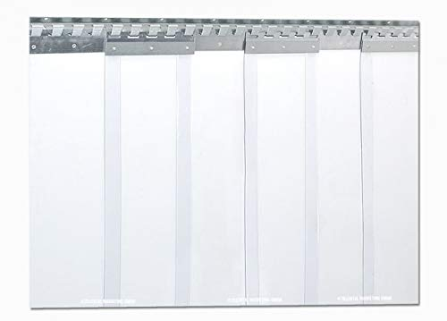 PVC Streifenvorhang 200 x 2mm - B 1,35 x H 2,25m