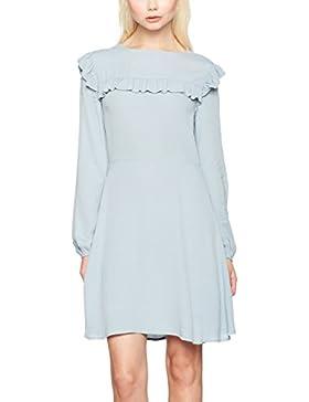 New Look Damen Kleid Frill Bib