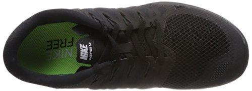 Nike Free 5 0, Chaussures de running mixte adulte Noir (Black/White-Anthracite)