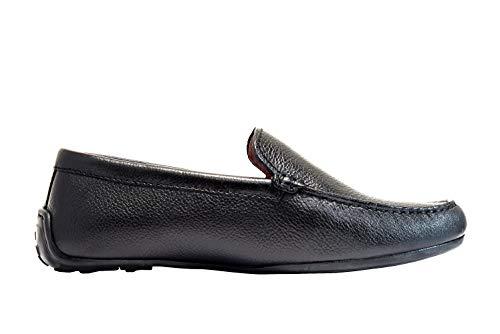 Clarks Herren Reazor Edge Mokassin, Schwarz (Black Leather), 43 EU - Clarks Leder-mokassins