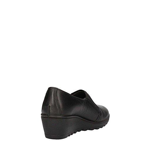 ENVAL SOFT scarpe donna ballerine zeppa 89920/00 Nero