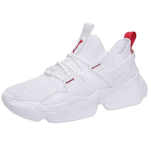 KERULA Sneakers, Vintage Men Outdoor Shoes Solid Sneakers Casual Fashion Mesh Running Athletic Day Ultra Lightweight Perforated Slip on Offroad Sport Sneaker füR Damen & Herren
