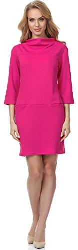 Merry Style Robe pour Femme MSSE0012 Fuchsia