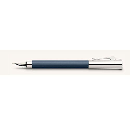Graf von Faber-Castell pluma estilográfica Tamitio metal vástago acanalado...