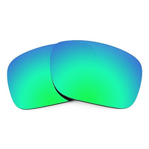 Revant Ersatzlinsen für Oakley Holbrook Emerald Grün MirrorShield®