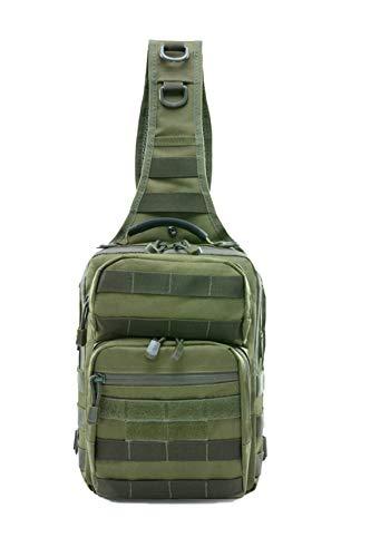 Tclothing Outdoor Rucksack 7L Oxford Sling Bag Wasserdicht Brusttaschen Klettern Umhängetasche Leichtes Geräumige Männer Schultertasche Tactical Jugendliche Cross Bag