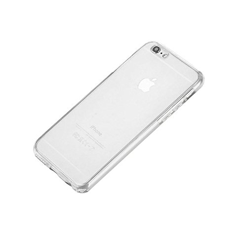 Minto Crystal TPU Full Body 360 ° Hülle iPhone 7 Plus Silikon Case Cover Etui Tasche - transparent Komplett Schutzhülle Transparent -i6+