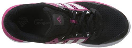 adidas duramo 7 w - Joggingschuhe - Damen Negro / Blanco / Rosa (Negbas / Ftwbla / Granit)