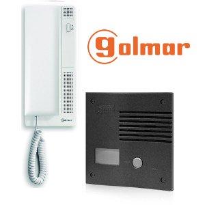 Golmar k-201 grf - Kit audio k-201 1 vivienda grafito