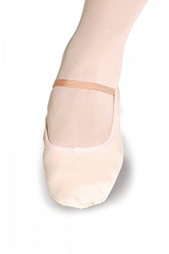 Roch Valley Ballettschläppchen aus Leinen - normale Passform Schwarz