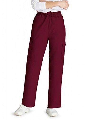 316%2BCSEy SL UK BEST BUY #1Adar Universal Natural Rise Multipocket Cargo Tapered Leg Pants   506   Burgundy   L price Reviews uk