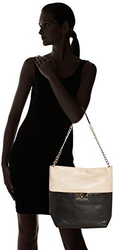 Adolfo Domínguez , sac porté épaule Femme Multicolore (Negro / Crema)