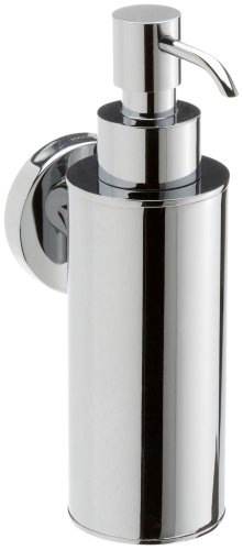 Kosmos 1123068 Stainless Steel and Zinc Alloy Haceka Metal Soap Dispenser, Silver