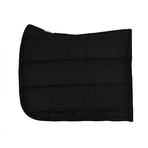 qhp-sattelpad-dressurpad-geformt-suedine-absorbierende-unterseite-warmblut-schwarz