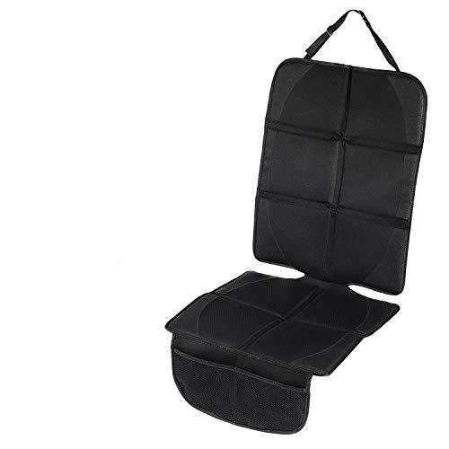 Protector de asiento de coche Antideslizante con organizador bolsillos Tamaño universal para los asientos de coche de bebé