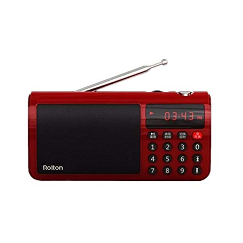 Lightleopard Rolton T50 Portable World Band UKW/MW/SW Stereo-Radio-Lautsprecher Mp3 Music Player (World Radio Portable Band)