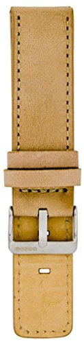 Oozoo Armband - Ersatzarmband für Oozoo Uhren etc. - 26 mm - Farbe : Sand