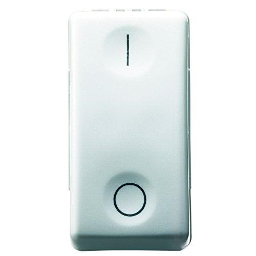 Gewiss 80003S GW20503 System Interruttore Bipolare, 16 A, Bianco