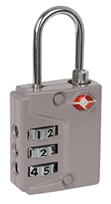 (SET OF 2) Smartraveler TSA Suitcase Combination Lock Travel Luggage Padlock 3 (Various Colors) by IVATION