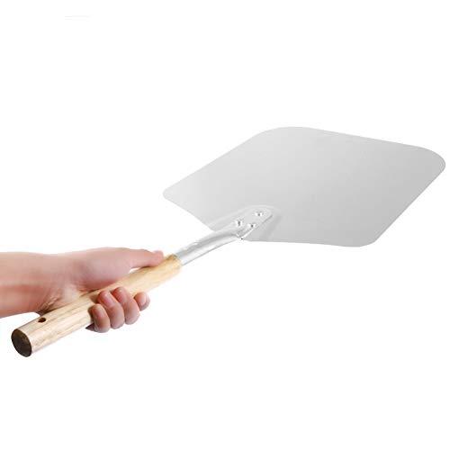 KUNHAN Pizzaschaufel 66 cm Aluminium Kuchen Schaufel Backen Werkzeuge Holzgriff Pizza Peel Cheese Cutter Peels Heber Werkzeuge Pizza Schaufel - Pizza Peel 14