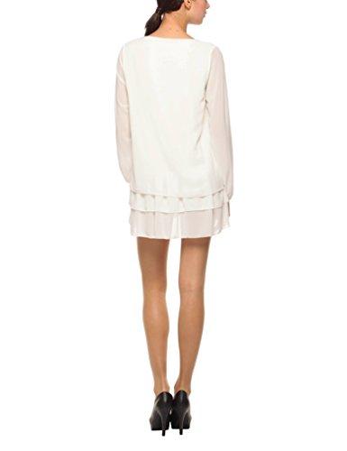 Solo Capri Abito Doppiato, Robe Femme Blanc