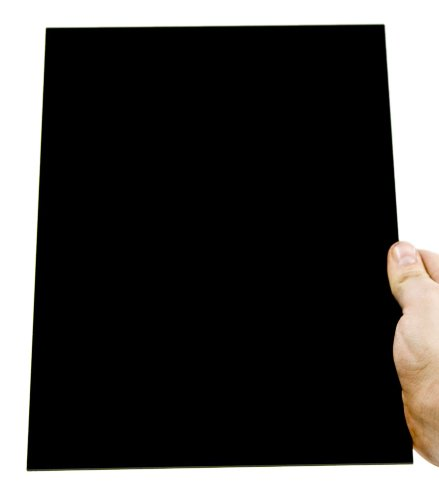 Acryl-Zuschnitt/Plexiglas-Platte schwarz, 3mm XT, 70 x 30 cm