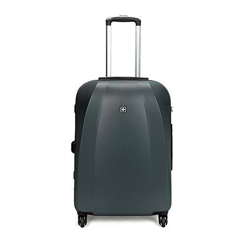 TY&GH Bagage Portable Rigide Et Ultraléger en Abs - Serrure TSA Intégrée À 4 Roues - Chariot Porte-Bagages pour Cabine - 20\