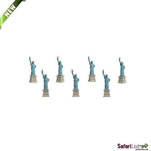 Safari Ltd. - Good Luck Minis - Glücksminis - Freiheitsstatue 5 Stück