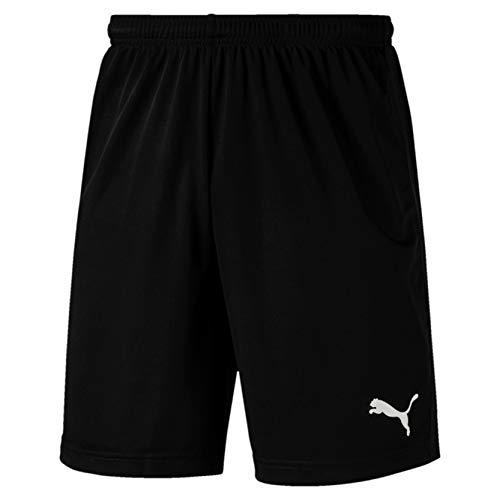 Puma Herren LIGA Training Shorts Core kurze Hose, schwarz(Puma Black / Puma White), S -