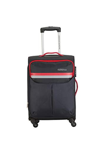 American Tourister Detroit Polyester 81 cms Grey Softsided Check-in Luggage (FK0 (0) 08 003)
