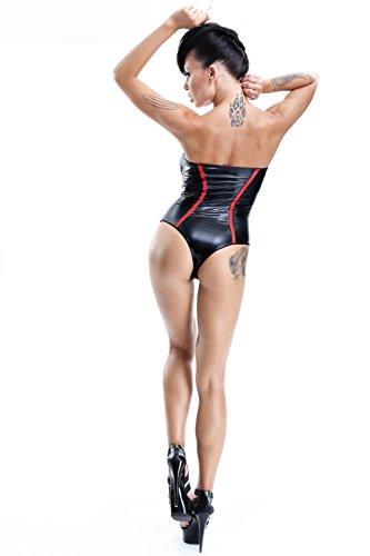 Demoniq -  Body  - Donna Schwarz/Rot