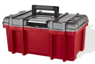 \'Curver Werkzeugkoffer, 22, rot und grau, 52.4x 22.4x 26cm, 222609