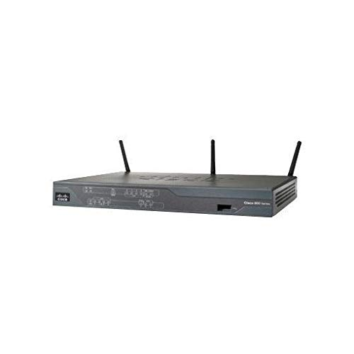 Cisco 886VA ISDN Wireless-Router (VDSL2, ADSL2+, 4-Port, 4-polig, 2x RJ45, USB)