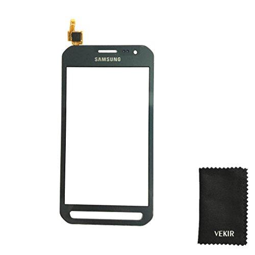 VEKIR Touch Screen Ersatz Kompatibel mit Samsung Galaxy Xcover 3 G388F G388 G389 (schwarz) Retail Verpackung (3. Antrag)
