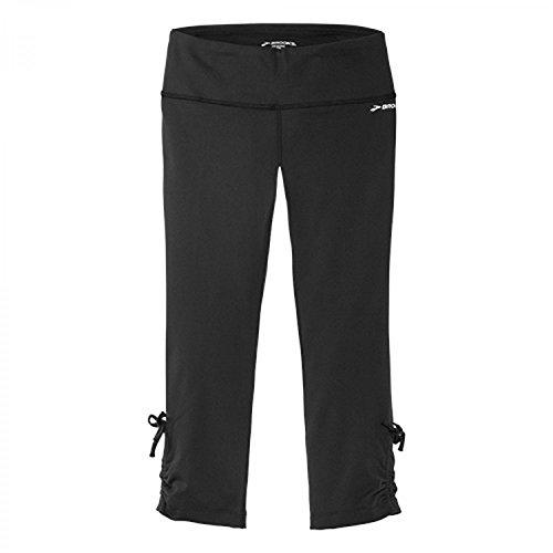 Brooks Damen Urban Run Capri 220889 Black Jacquard S (Moving Comfort Hose)