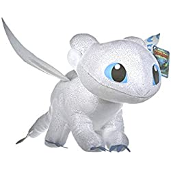 DreamWorks 12432 Train Your Dragon 3 Light Fury - Peluche (60 cm)