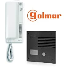 Golmar k-201 grf - Kit audio k-201 1 vivienda grafito