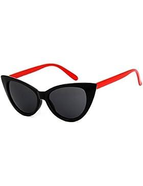 Gafas De Sol Polarizadas ECYC® Para Mujer, Marco Grueso Retro Gafas De Sol Estilo Catado