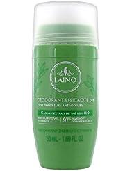 Laino Déodorant Efficacité 24H Extrait de Thé Vert Bio 50 ml