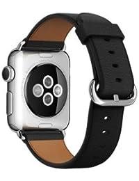 Apple - Band 38 mm Correa clásica con hebilla negra