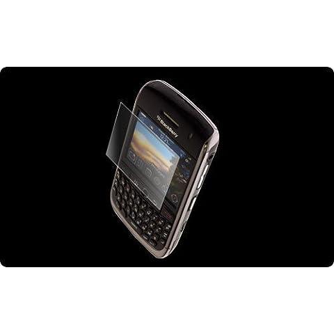 Zagg invisibleSHIELD Cover posteriore pellicola proteggi schermo per BlackBerry Curve