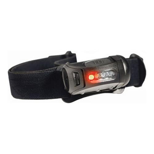 Princeton Tec FRED - helle Stirnlampe mit Rotlichtmodus, 45 Lumen; Farbe: schwarz