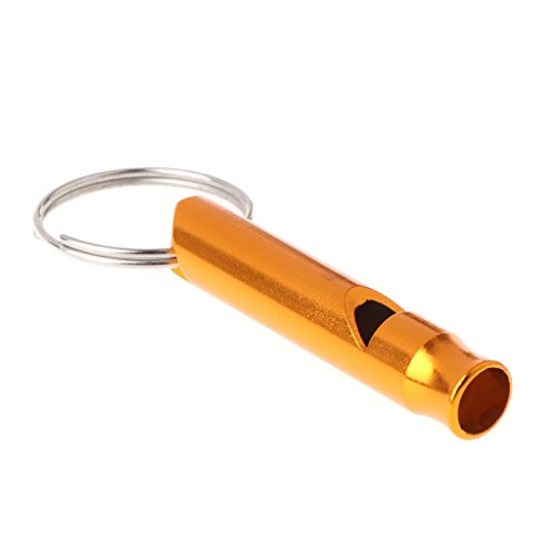 Yasheep Pet Training Whistle, Tragbar Flöte für Hunde Training und Bellkontrolle, aus Aluminium Legierung